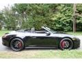 Porsche 911 Carrera GTS Cabriolet Black photo #3