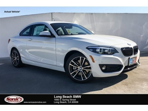 Alpine White 2019 BMW 2 Series 230i Coupe