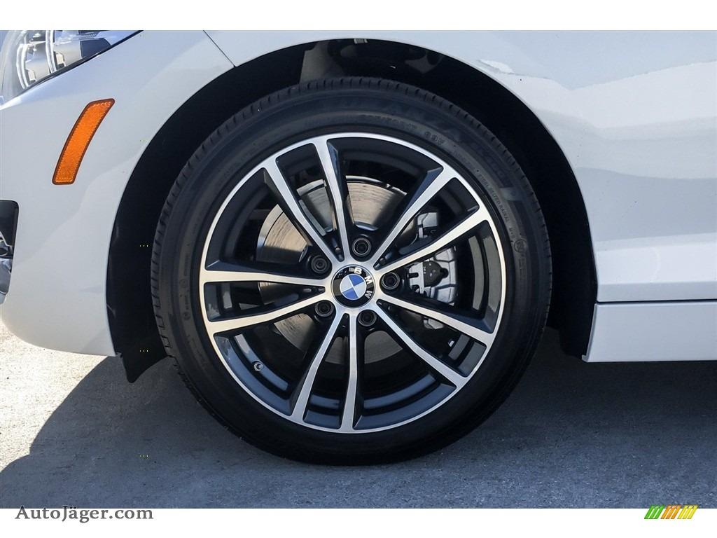 2019 2 Series 230i Coupe - Alpine White / Black photo #9