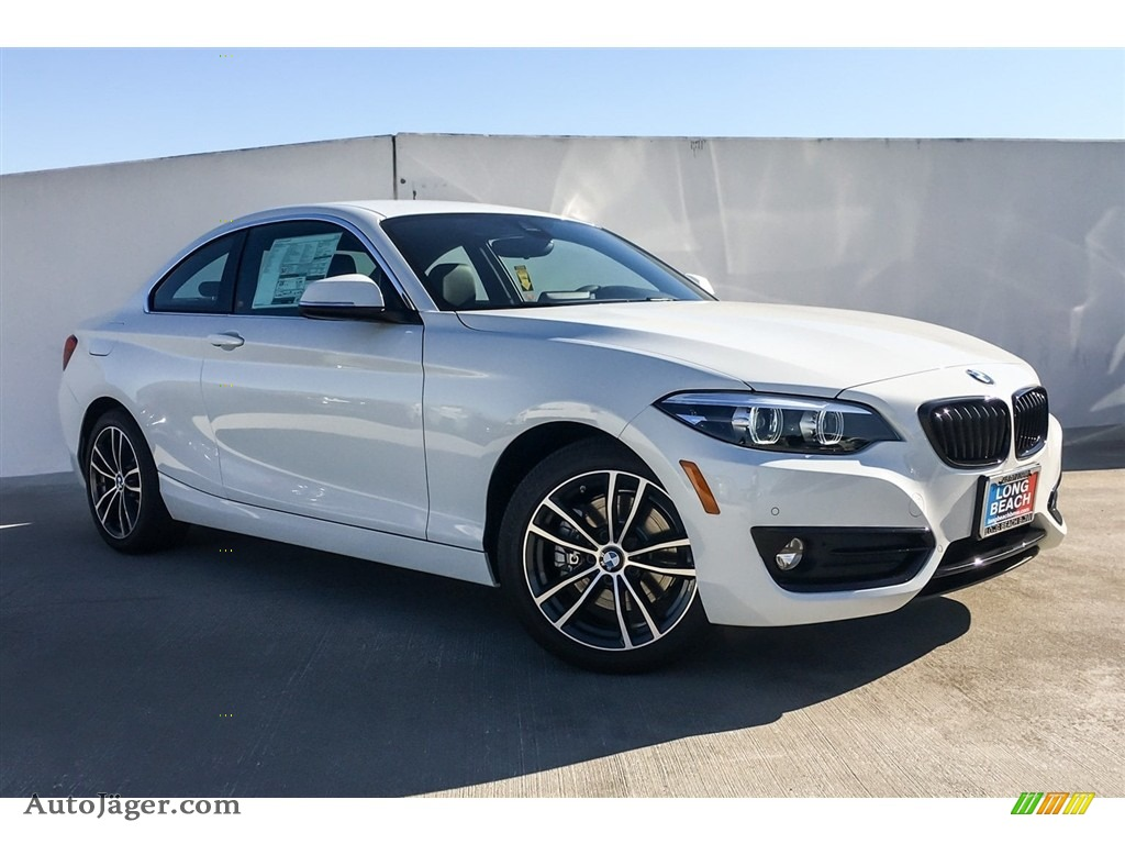 2019 2 Series 230i Coupe - Alpine White / Black photo #12