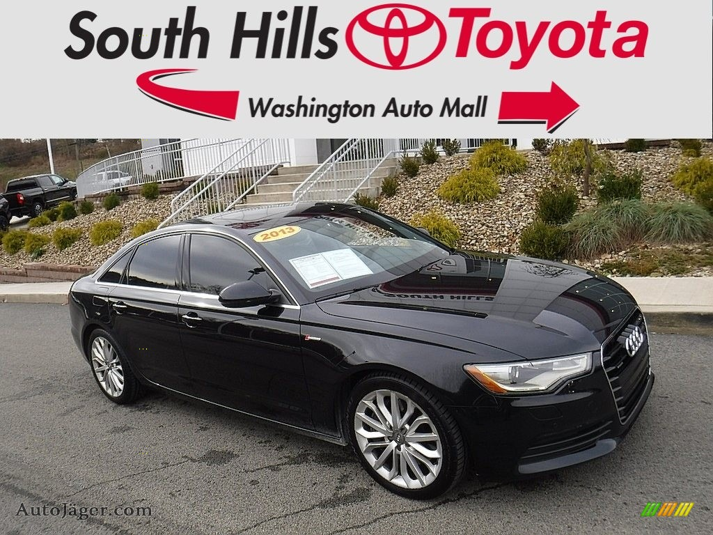 Brilliant Black / Black Audi A6 3.0T quattro Sedan