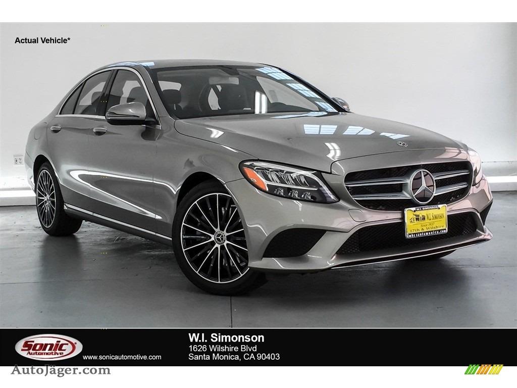 2019 C 300 Sedan - Mojave Silver Metallic / Magma Grey/Black photo #1