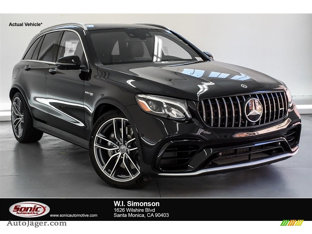 2019 GLC AMG 63 4Matic - Obsidian Black Metallic / Black/Red Pepper photo #1