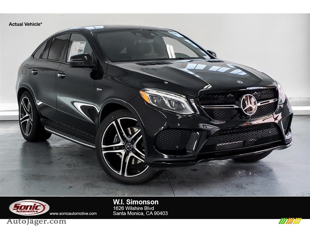 Black / Black Mercedes-Benz GLE 43 AMG 4Matic Coupe