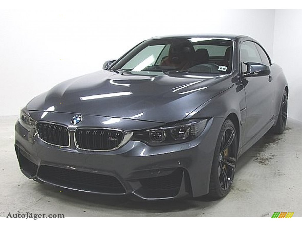 2015 M4 Convertible - Mineral Grey Metallic / Sakhir Orange/Black photo #1
