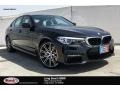 BMW 5 Series 540i Sedan Black Sapphire Metallic photo #1