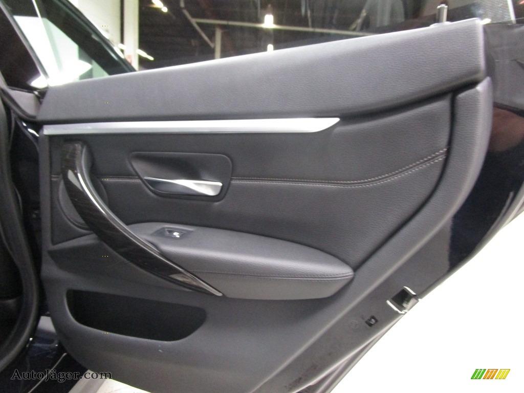 2019 4 Series 430i xDrive Gran Coupe - Carbon Black Metallic / Black photo #16