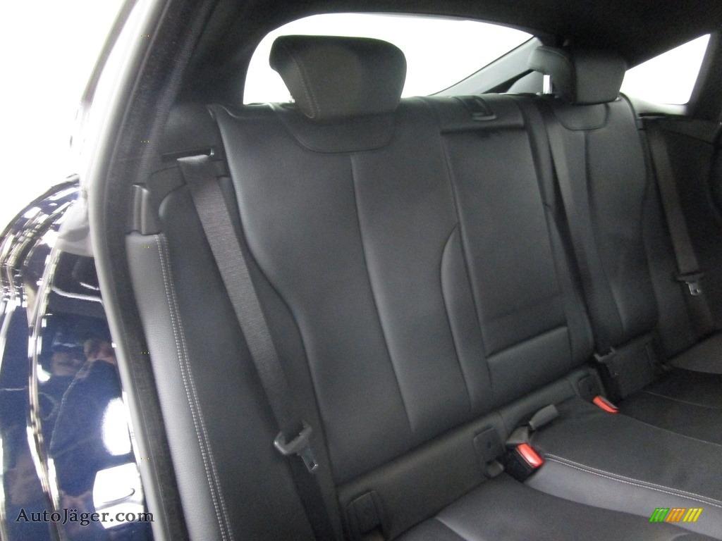2019 4 Series 430i xDrive Gran Coupe - Carbon Black Metallic / Black photo #17