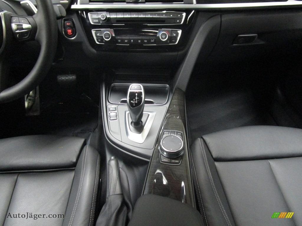 2019 4 Series 430i xDrive Gran Coupe - Carbon Black Metallic / Black photo #27