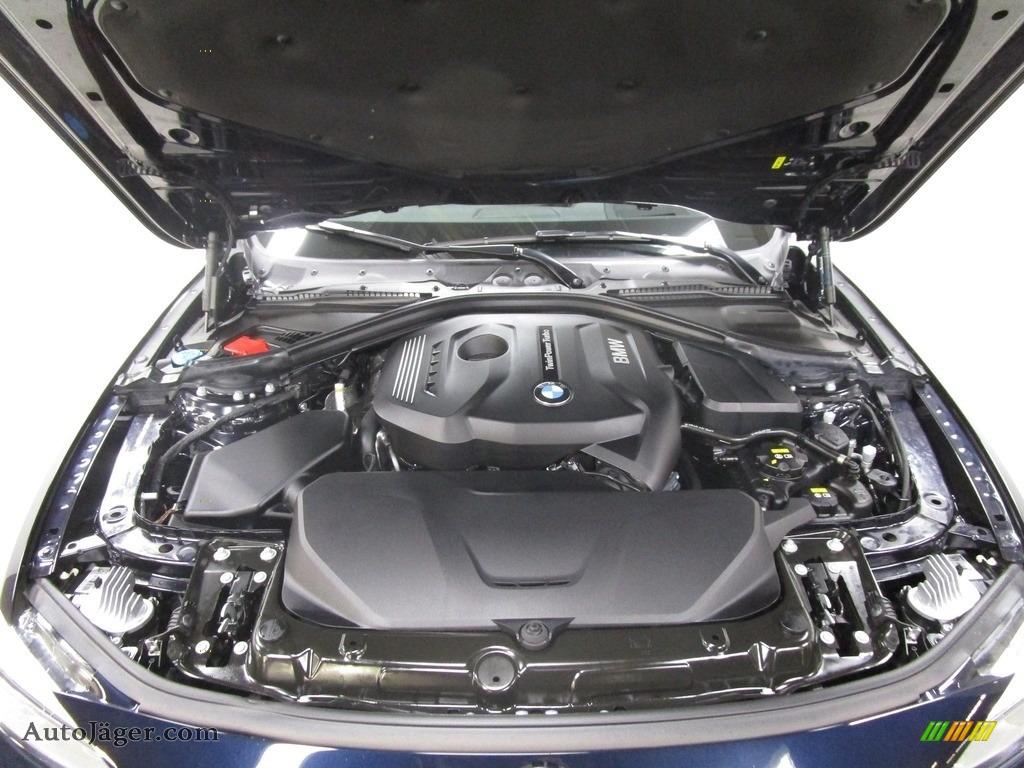 2019 4 Series 430i xDrive Gran Coupe - Carbon Black Metallic / Black photo #29
