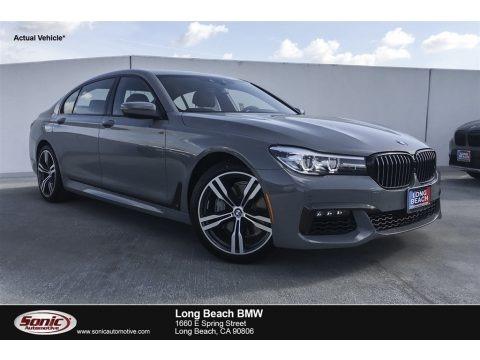 Nardo Gray 2019 BMW 7 Series 740i Sedan