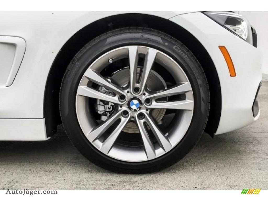 2019 4 Series 430i Coupe - Alpine White / Black photo #9