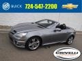 Mercedes-Benz SLK 300 Roadster Palladium Silver Metallic photo #1