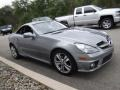 Mercedes-Benz SLK 300 Roadster Palladium Silver Metallic photo #8