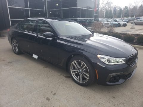 Carbon Black Metallic 2019 BMW 7 Series 750i xDrive Sedan