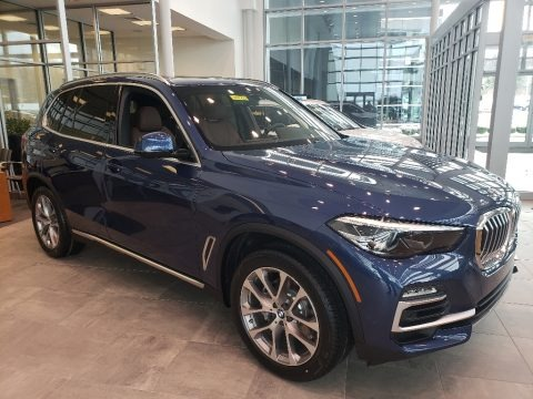Phytonic Blue Metallic 2019 BMW X5 xDrive40i