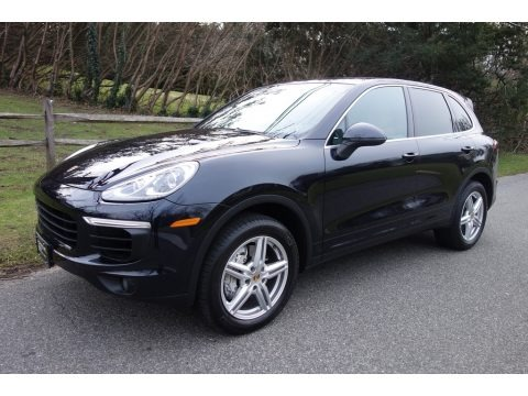 Moonlight Blue Metallic 2016 Porsche Cayenne S