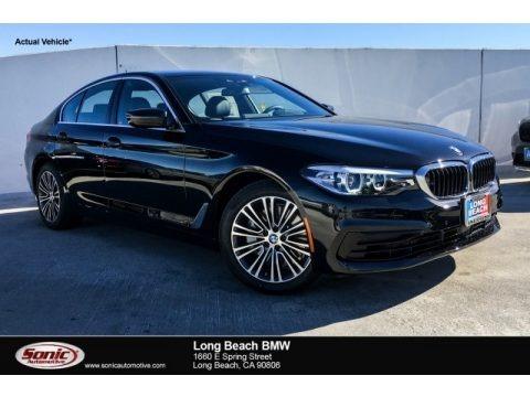 Black Sapphire Metallic 2019 BMW 5 Series 540i Sedan