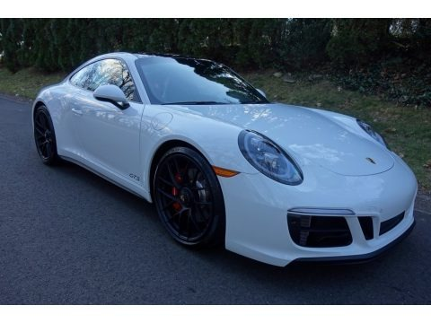 White 2019 Porsche 911 Carrera GTS Coupe