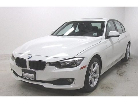 Alpine White 2015 BMW 3 Series 320i xDrive Sedan