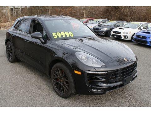 Black 2017 Porsche Macan GTS