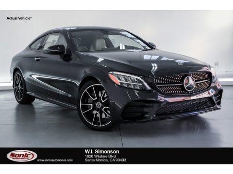 Graphite Grey Metallic 2019 Mercedes-Benz C 300 Coupe