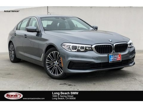 Bluestone Metallic 2019 BMW 5 Series 530i Sedan