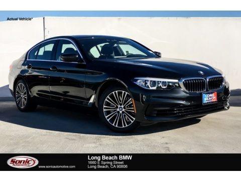 Black Sapphire Metallic 2019 BMW 5 Series 530e iPerformance Sedan