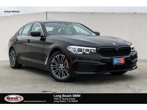 Jet Black 2019 BMW 5 Series 530i Sedan