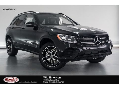 Black 2019 Mercedes-Benz GLC 300