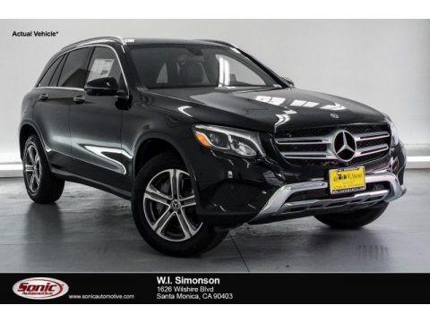 Black 2019 Mercedes-Benz GLC 300 4Matic