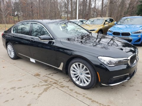 Black Sapphire Metallic 2019 BMW 7 Series 740i xDrive Sedan