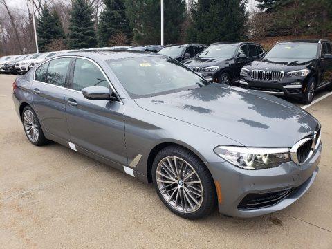 Bluestone Metallic 2019 BMW 5 Series 540i xDrive Sedan