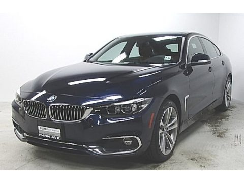 Imperial Blue Metallic 2019 BMW 4 Series 440i xDrive Gran Coupe
