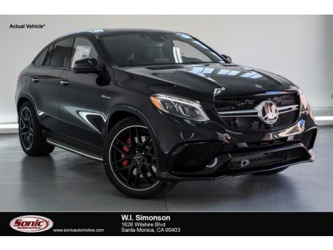 Obsidian Black Metallic 2019 Mercedes-Benz GLE 63 S AMG 4Matic Coupe