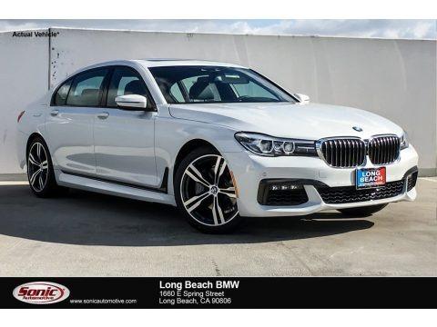 Mineral White Metallic 2019 BMW 7 Series 740i Sedan