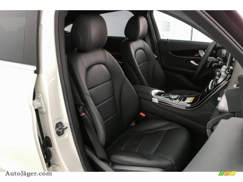 2019 GLC 300 4Matic Coupe - designo Diamond White Metallic / Black photo #5