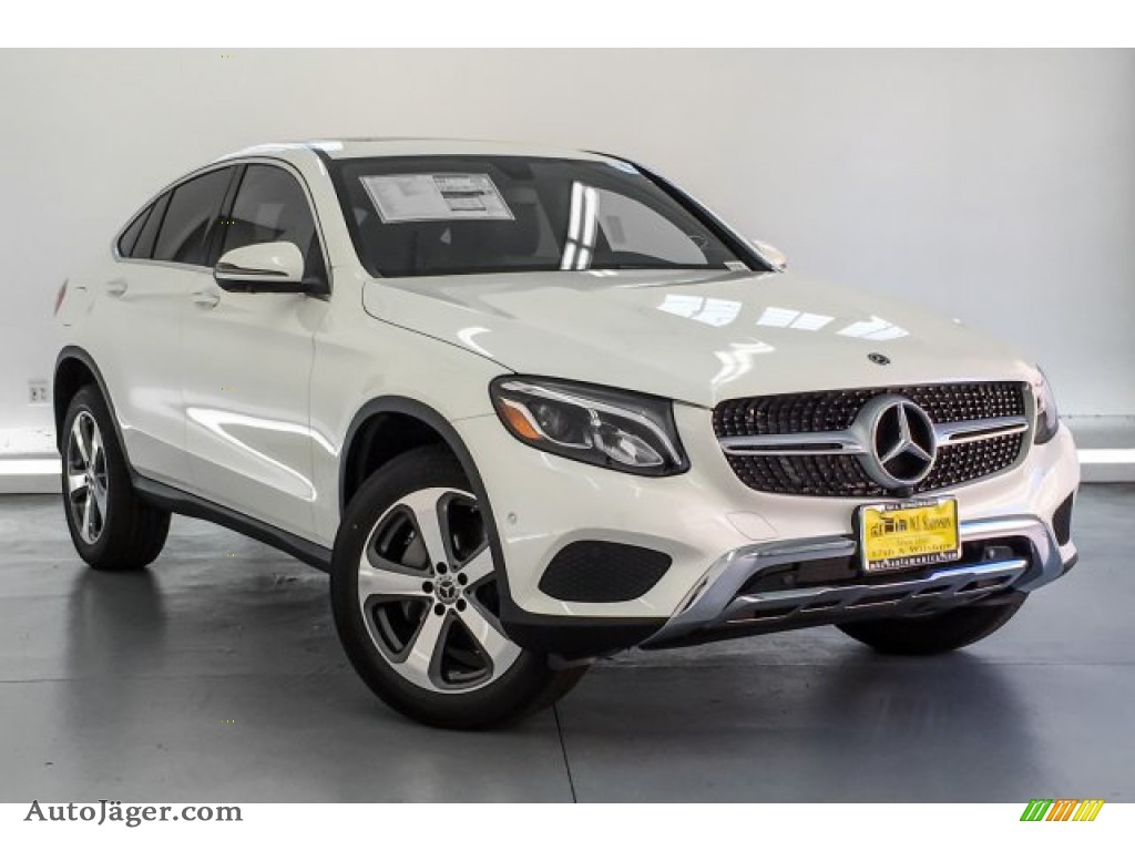 2019 GLC 300 4Matic Coupe - designo Diamond White Metallic / Black photo #12