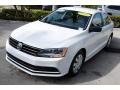 Volkswagen Jetta S Pure White photo #4