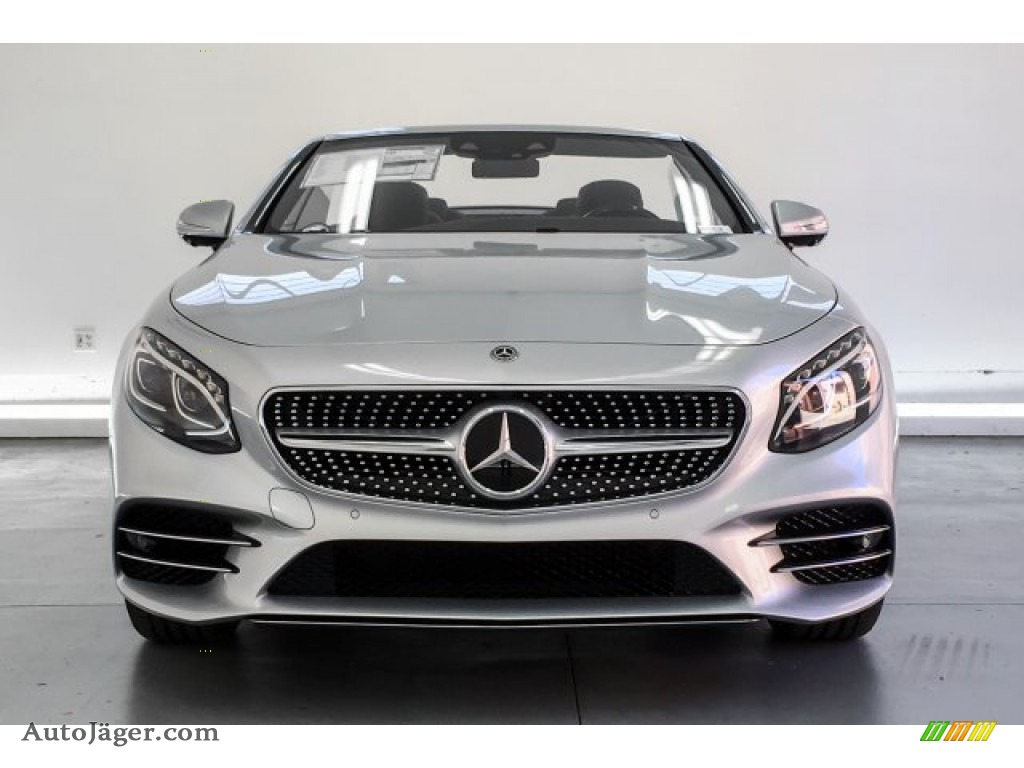 2019 S S 560 Cabriolet - Iridium Silver Metallic / Black photo #2