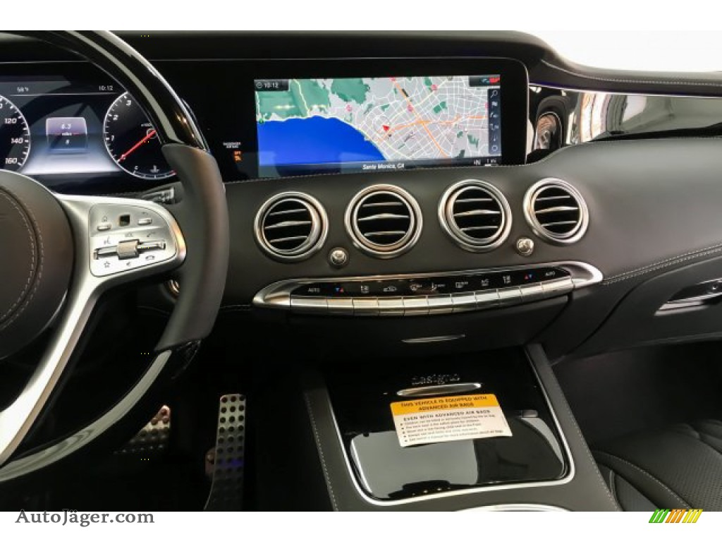 2019 S S 560 Cabriolet - Iridium Silver Metallic / Black photo #5