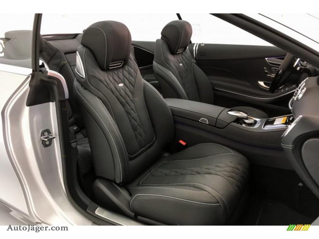 2019 S S 560 Cabriolet - Iridium Silver Metallic / Black photo #6