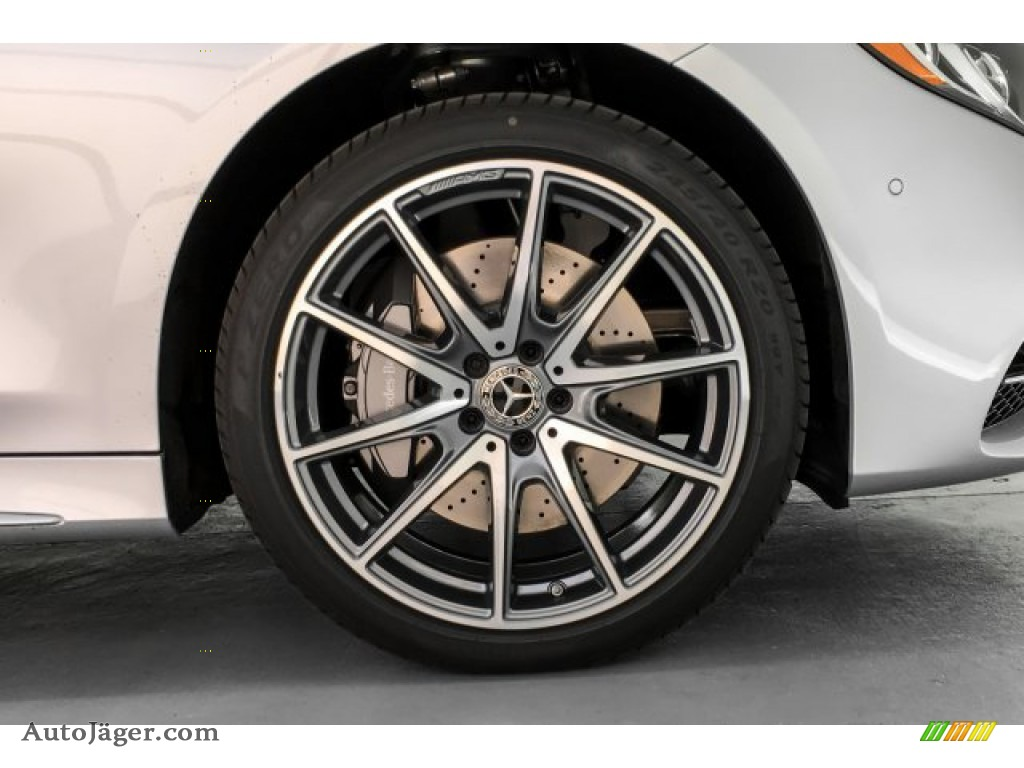 2019 S S 560 Cabriolet - Iridium Silver Metallic / Black photo #8