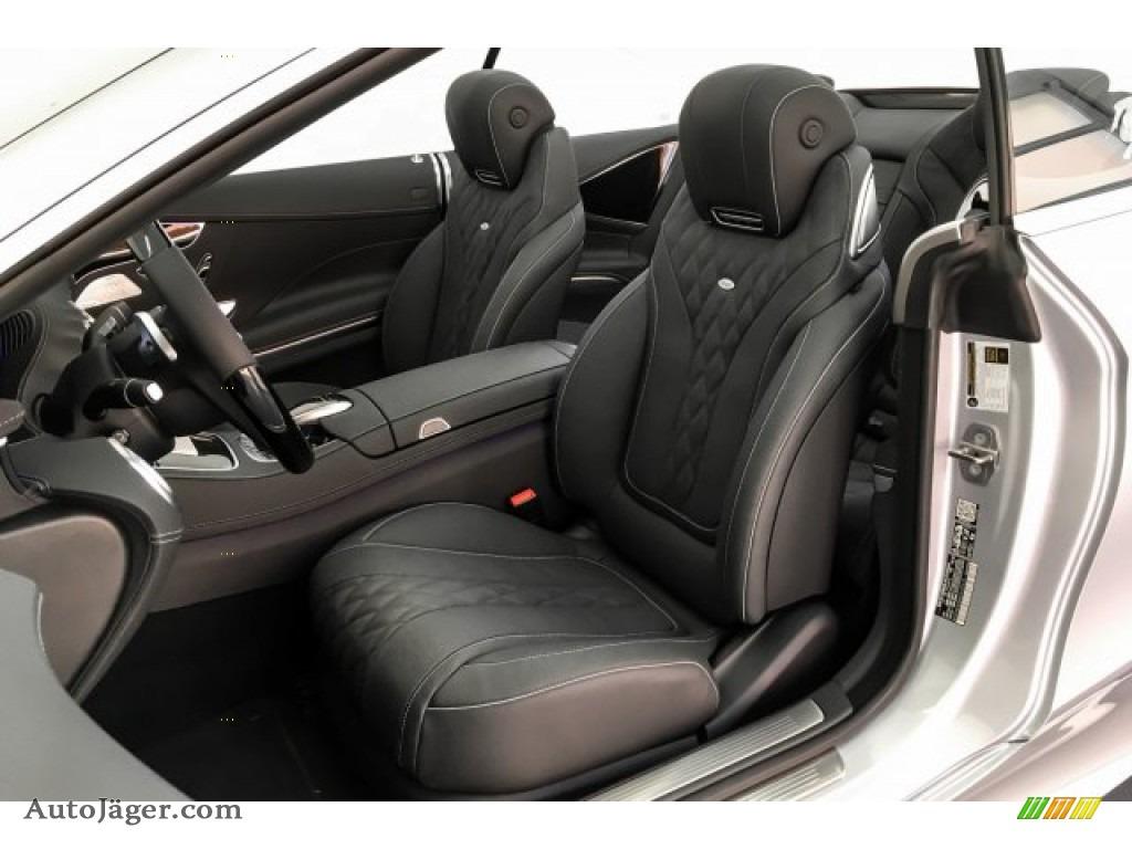 2019 S S 560 Cabriolet - Iridium Silver Metallic / Black photo #15