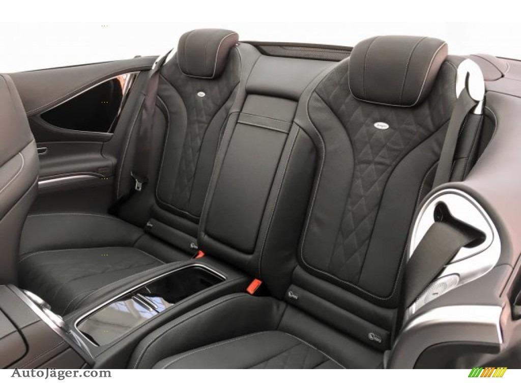 2019 S S 560 Cabriolet - Iridium Silver Metallic / Black photo #17