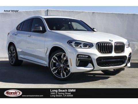 Alpine White 2019 BMW X4 M40i
