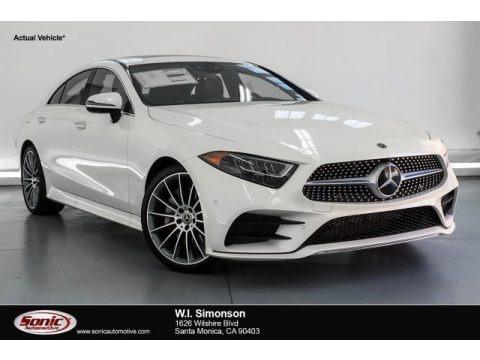 designo Diamond White Metallic 2019 Mercedes-Benz CLS 450 Coupe