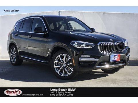 Jet Black 2019 BMW X3 xDrive30i
