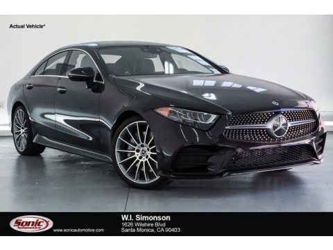 Ruby Black Metallic 2019 Mercedes-Benz CLS 450 Coupe