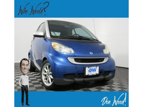 Blue Metallic 2009 Smart fortwo passion coupe